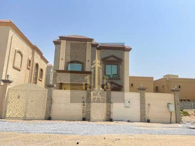 GRAB THE GREAT DEAL BEAUTIFULL DESIGN VILLA FOR RENT 5 BEDROOMS HALL AL RAWDA2 AJMAN RENT 85,000/- AED YEARLY