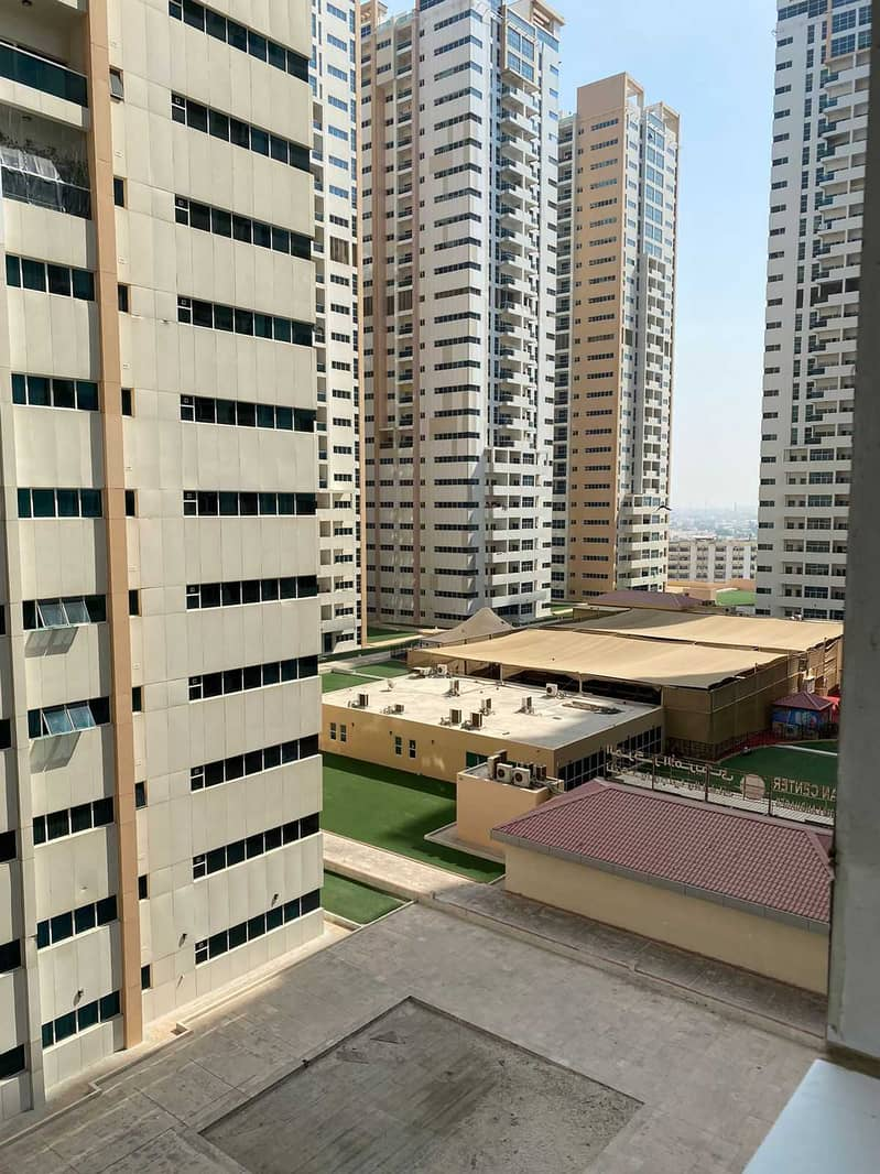 1050 SQFT with parking  1 BHK for sale in Ajman one towers Ajman
