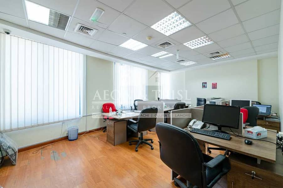 Unfurnished  Fully Fitted Office  6 Rooms Approved