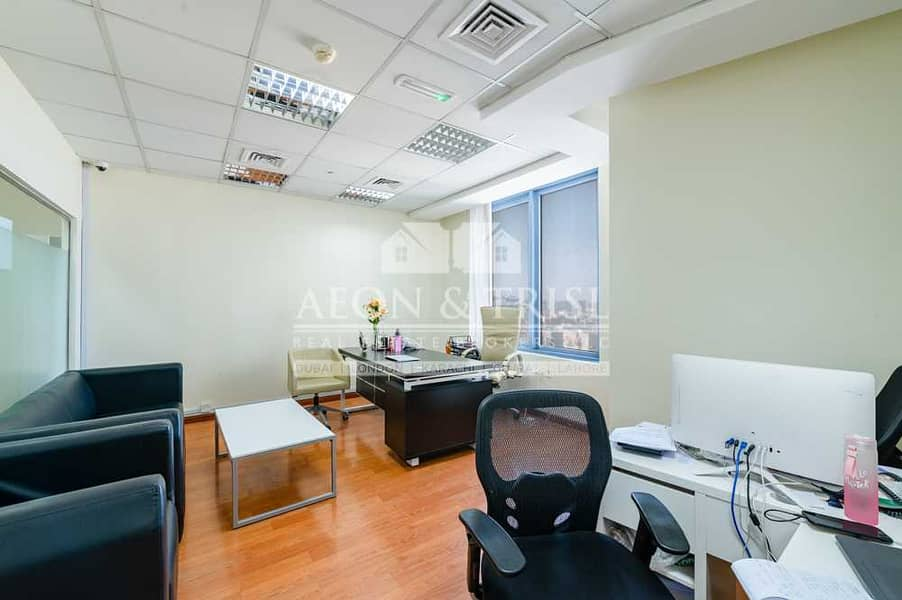 2 Unfurnished  Fully Fitted Office  6 Rooms Approved