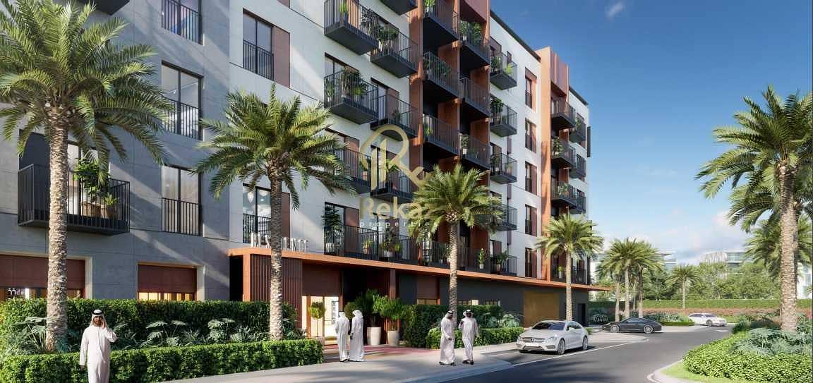 شقة في رمال رزيدنسز مساكن مريم جايت جزيرة مريم الخان 1 غرف 560000 درهم - 5380018