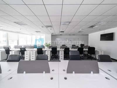 مکتب  للبيع في أبراج بحيرات الجميرا، دبي - Fully Fitted Office I Partitioned I Combine Unit