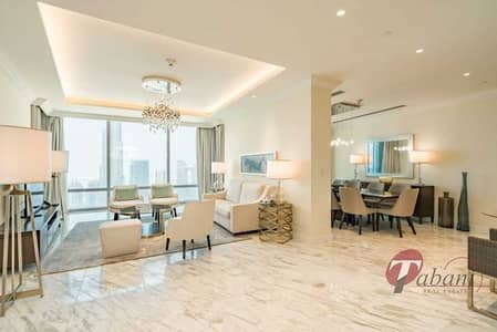 4 Bedroom Apartment for Rent in Downtown Dubai, Dubai - Sky collection Penthouse  Burj View  All inclusive