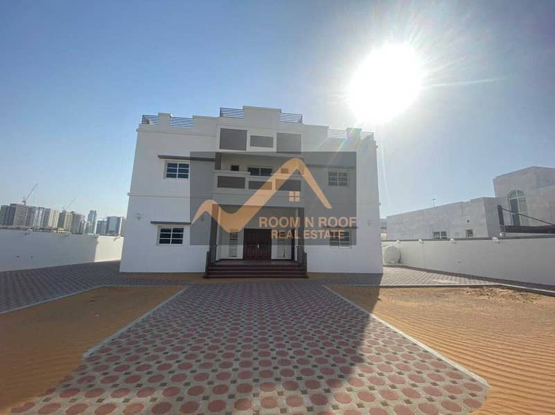 luxury Villa In Al Barsha  South 5 -Bed_Maids+Driver Rom For Rent