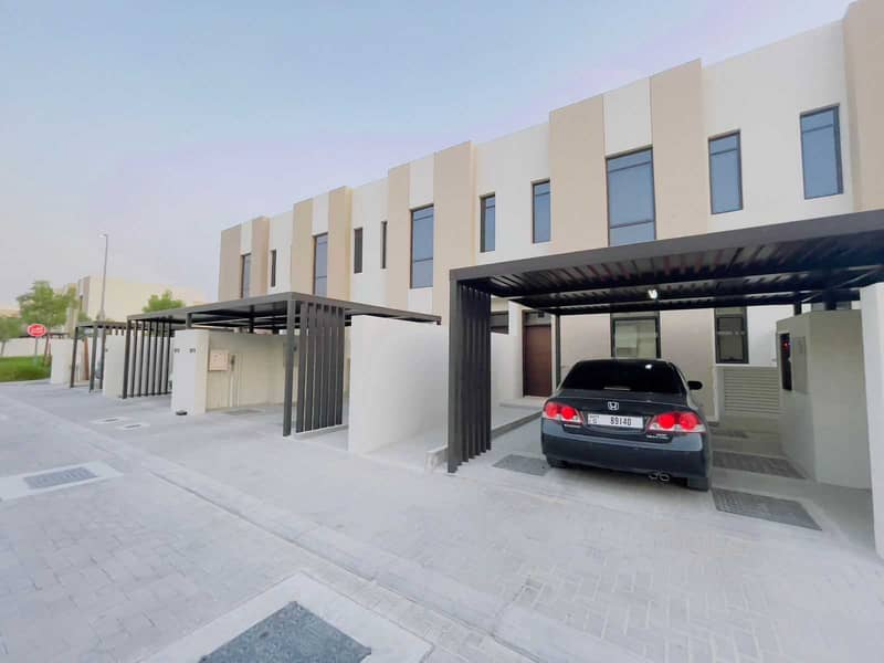 Brand New 2 Bedrooms Townhouse is available for rent in Nasma Residence for 55,000 AED