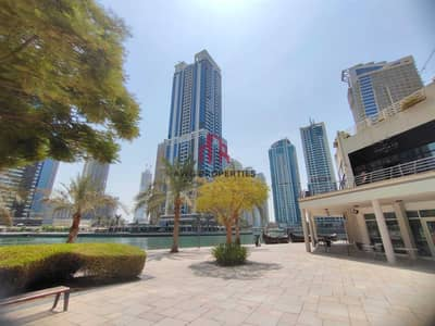Shop for Rent in Jumeirah Lake Towers (JLT), Dubai - 3 months free! Shell and core! brand new ! closed to metro! amazing view from  lake !