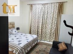 شقة في الحي الإماراتي المدينة العالمية 1 غرف 25000 درهم - 5380595