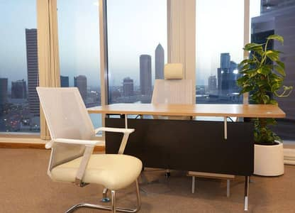 FULLY FURNISHED OFFICE FOR RENT @ PRIME LOCATION IN SHEIKH ZAYED ROAD