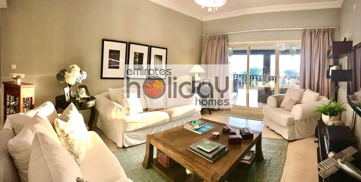 Fully Furnished - Full Sea view - Biggest unit