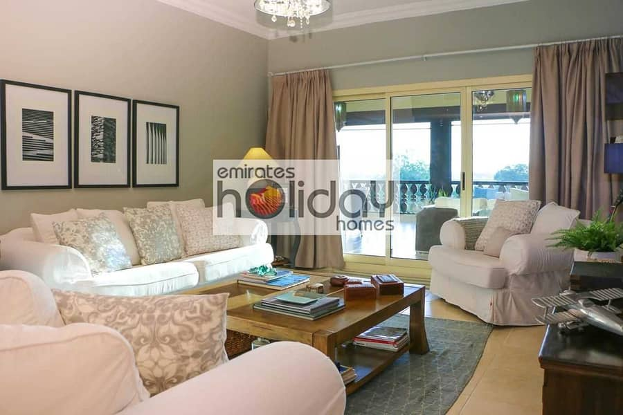 2 Fully Furnished - Full Sea view - Biggest unit