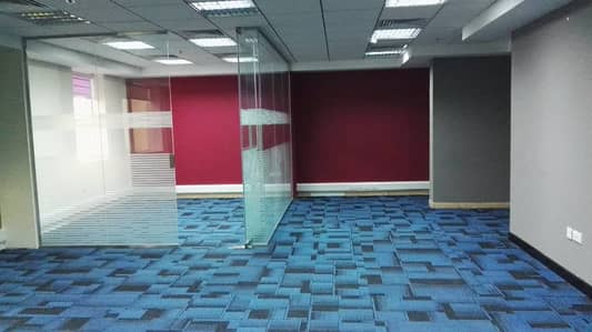 500sqft OFFICE WITH FREE DEWA,CHILLER NEAR METRO STATION