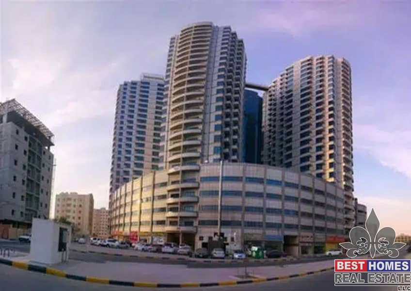 2 Bedroom for rent in falcon towers ajman