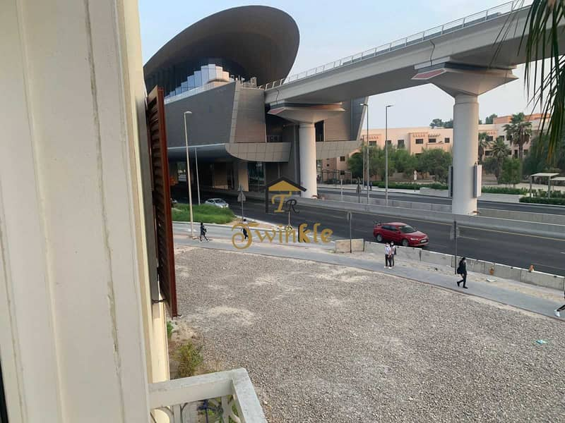 14 Next to Metro  1 B/R with balcony in Discovery gardenss