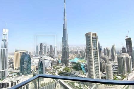 4 Bedroom Hotel Apartment for Sale in Downtown Dubai, Dubai - High Floor Unit  Full Sea & Partial Burj View
