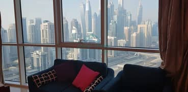 Stunning View   Furnished   Close to Metro   Bright