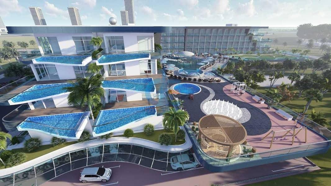 حمام سباحة خاص في شقتك   خطة سداد طويلة مباشرة من المطور   10٪ دفعة أولى   تملك حر   قلب دبي
