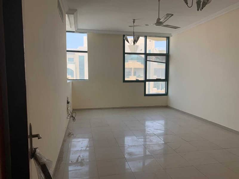Prime location and big size 2 bhk apartment for rent in Rashidiya.