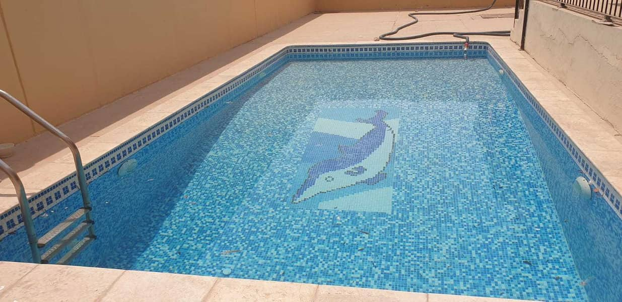 Fabulous 5 Master bedrooms villa with pool at MBZ.