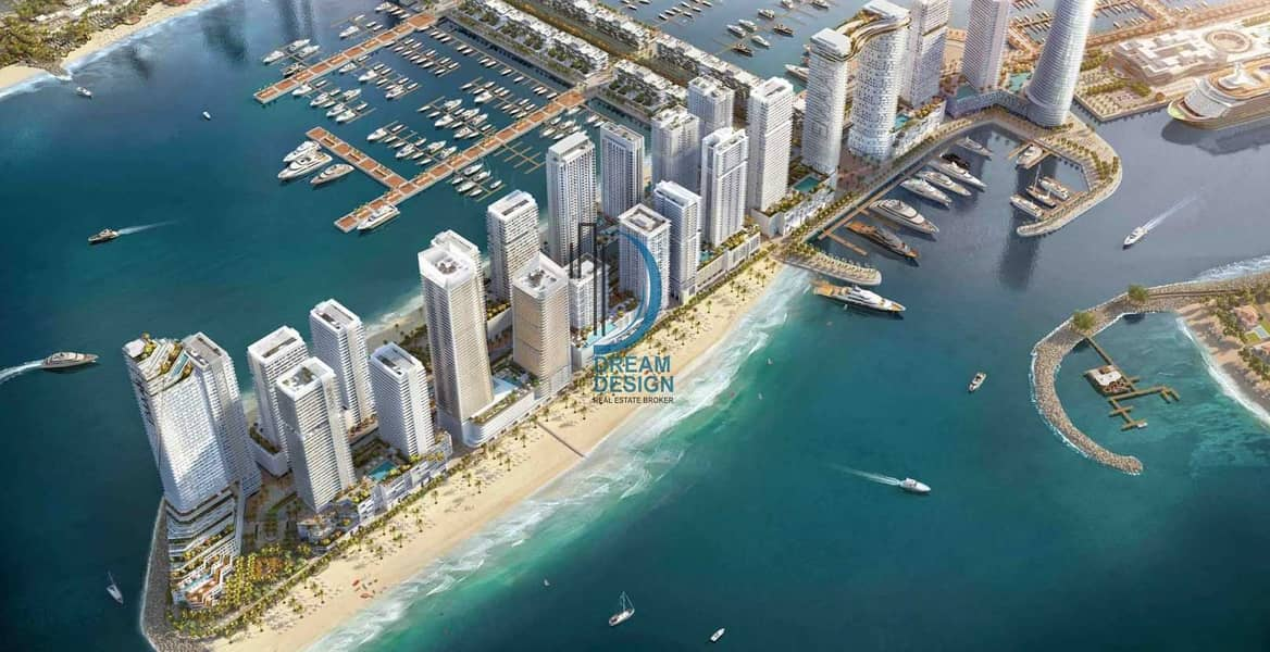 3 Bed l Skyline View Sea View l Beach Front l Emaar