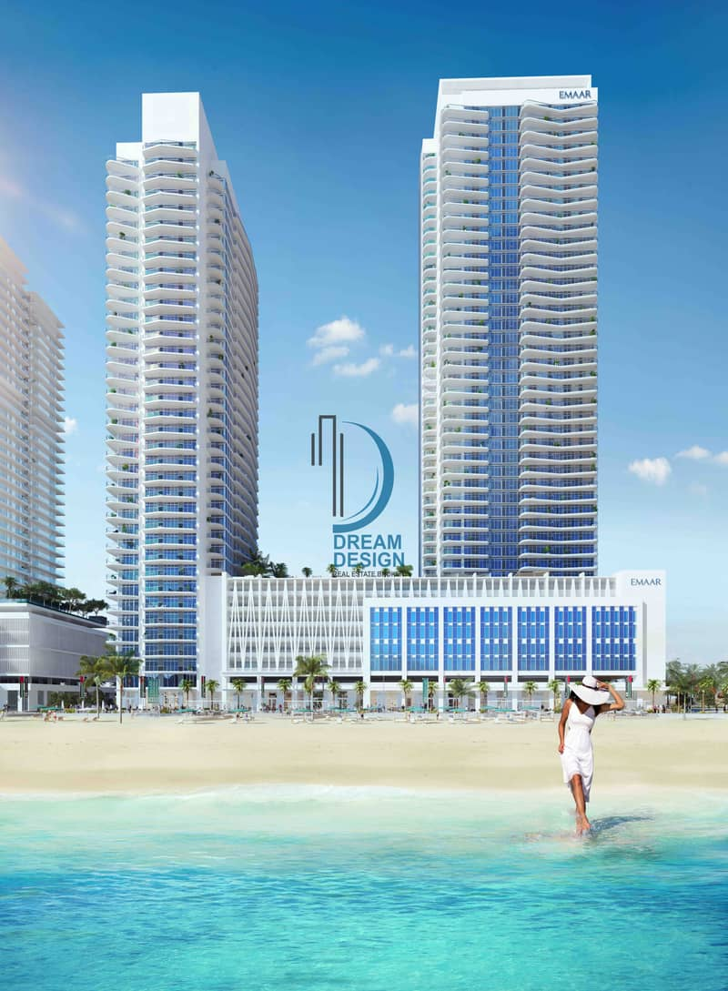 2 3 Bed l Skyline View Sea View l Beach Front l Emaar
