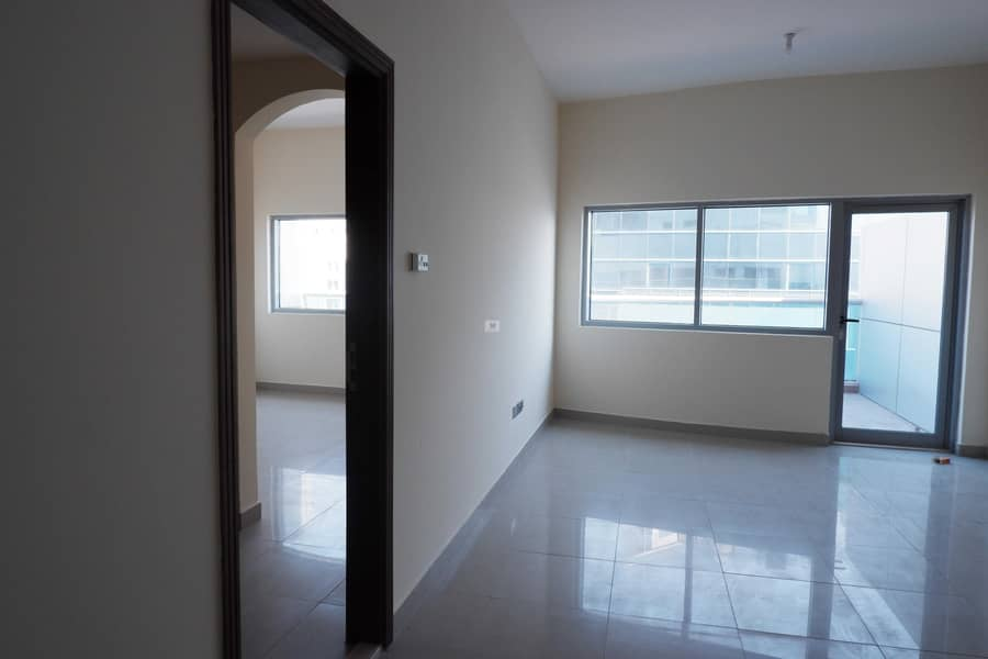 2 big 1 bed room- ready to move