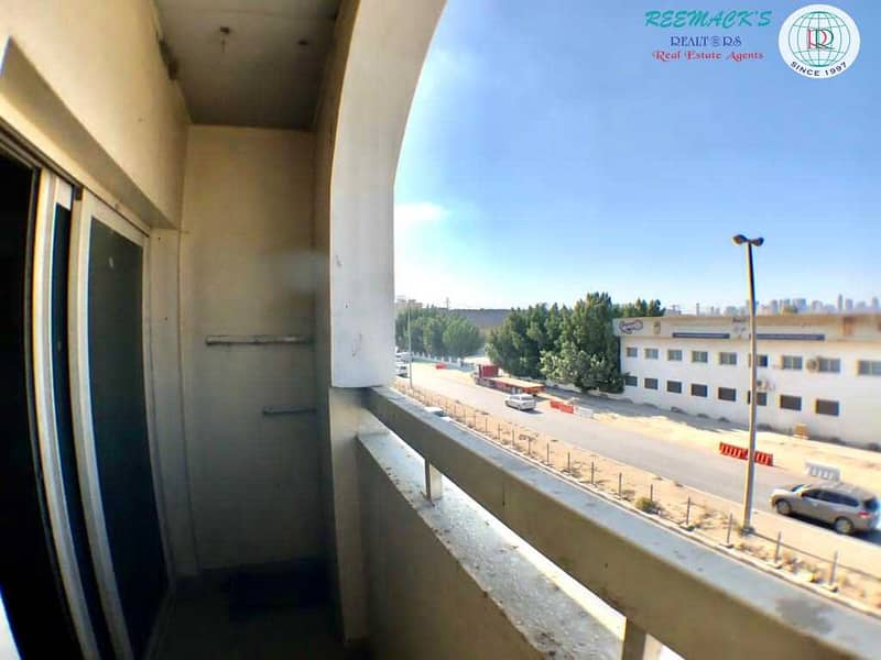 17 SPACIOUS 1 B/R HALL FLAT WITH BALCONY  IN INDUSTRIAL AREA 11
