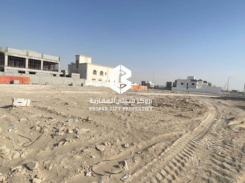For sale land in Bani Yas city Main street