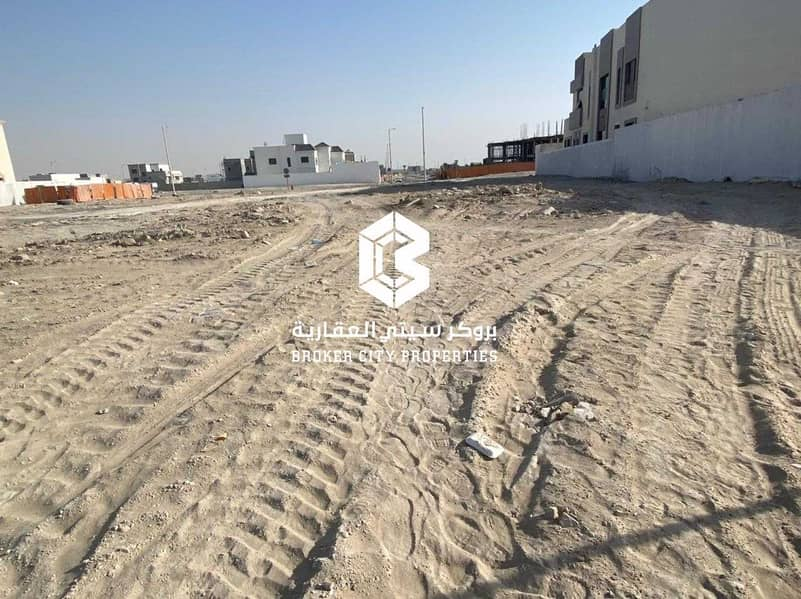 2 For sale land in Bani Yas city Main street