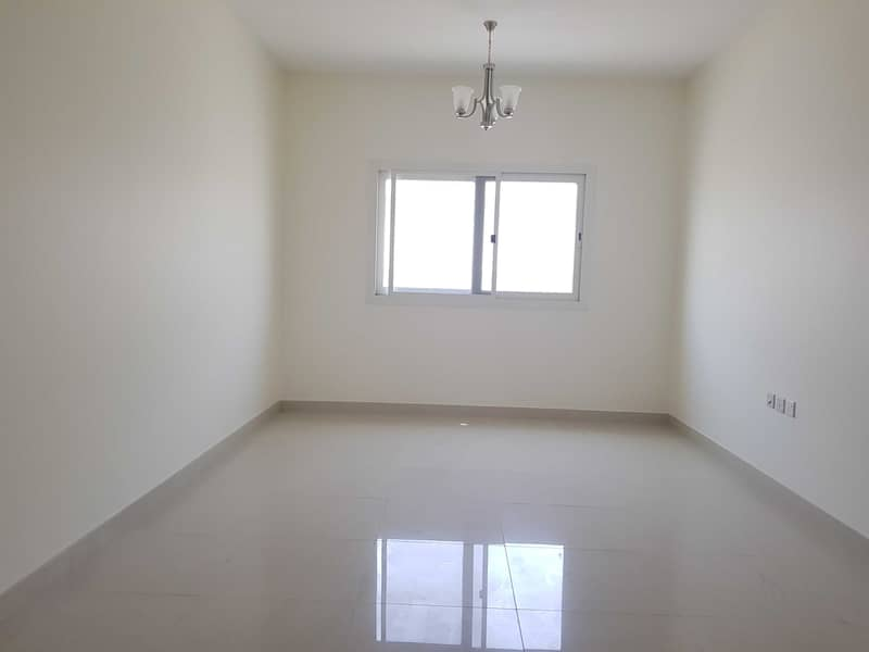 Brand new 3bhk 37k with one month free all facilities in muwailah  area sharjah very close to national paint bridge