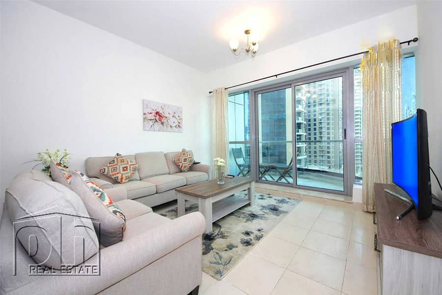 2 Stunning 1 Bed with great views & modern furniture