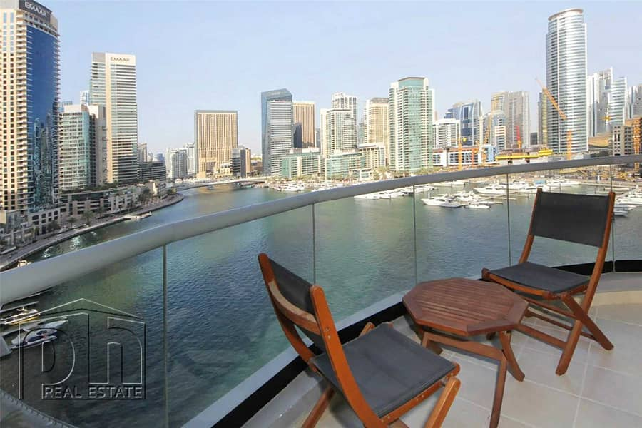 Stunning 1 Bed with great views & modern furniture