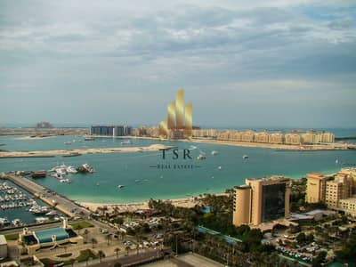 1 Bedroom Apartment for Rent in Dubai Marina, Dubai - Well Maintained   Sea View   Bright Apt