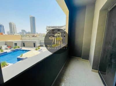 استوديو  للايجار في قرية جميرا الدائرية، دبي - Look at the Beautiful Studio with Balcony only for 23k