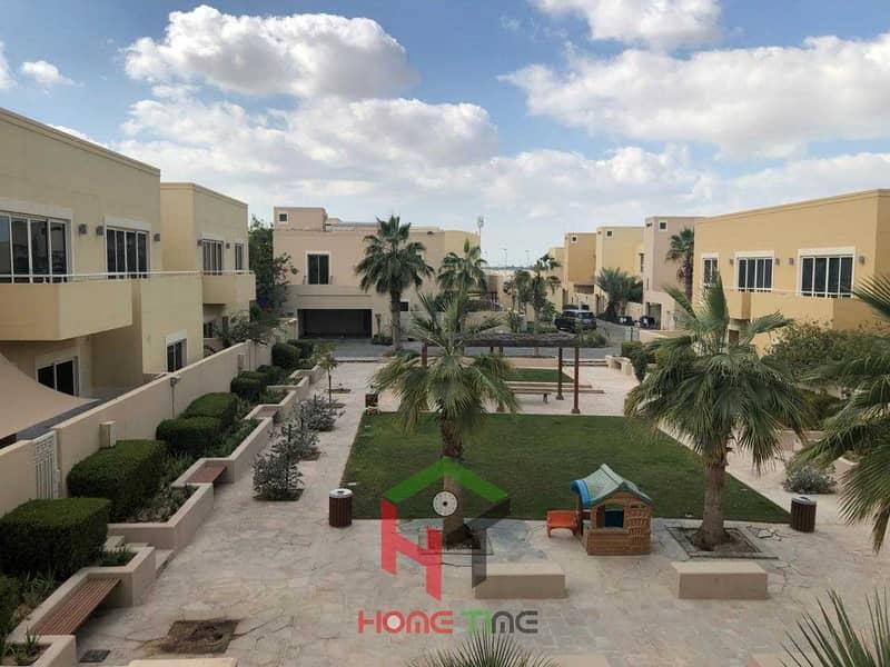 very hot opportunity 3 bedroom townhouse at al Raha gardens