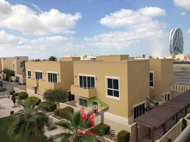 2 very hot opportunity 3 bedroom townhouse at al Raha gardens