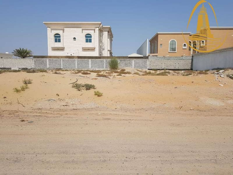 FOR SALE A RESIDENTIAL LAND IN AL GHARAYEN 1 AREA