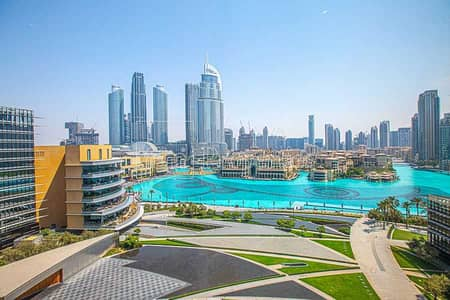 2 Bedroom Flat for Rent in Downtown Dubai, Dubai - Middle 2BR w/Fountain View from All Rooms!