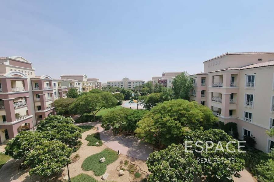 Available Now   1 Bedroom   Pool & Garden View