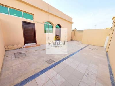 2 Bedroom Apartment for Rent in Shakhbout City (Khalifa City B), Abu Dhabi - Amazingly Stunning Extension 2 BR + Majles   Private Entrance   Huge Yard