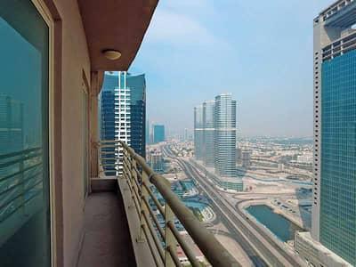 فلیٹ 1 غرفة نوم للايجار في أبراج بحيرات الجميرا، دبي - شقة في برج أيكون 2 برج أيكون أبراج بحيرات الجميرا 1 غرف 45000 درهم - 5311597
