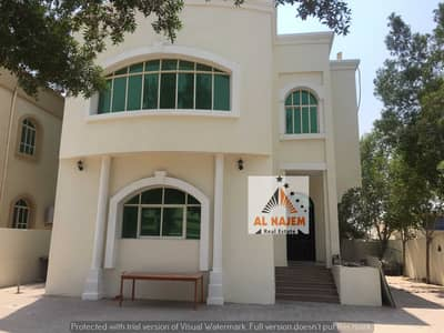 For rent a villa in the Rawda area, the corner of two streets