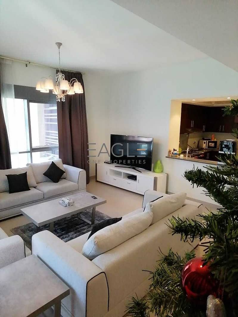 Amazing 2 BR Plus Maids | Near to Metro | Fully Furnished