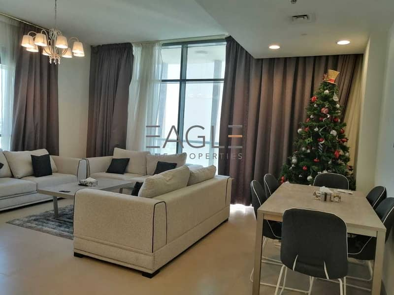 2 Amazing 2 BR Plus Maids | Near to Metro | Fully Furnished