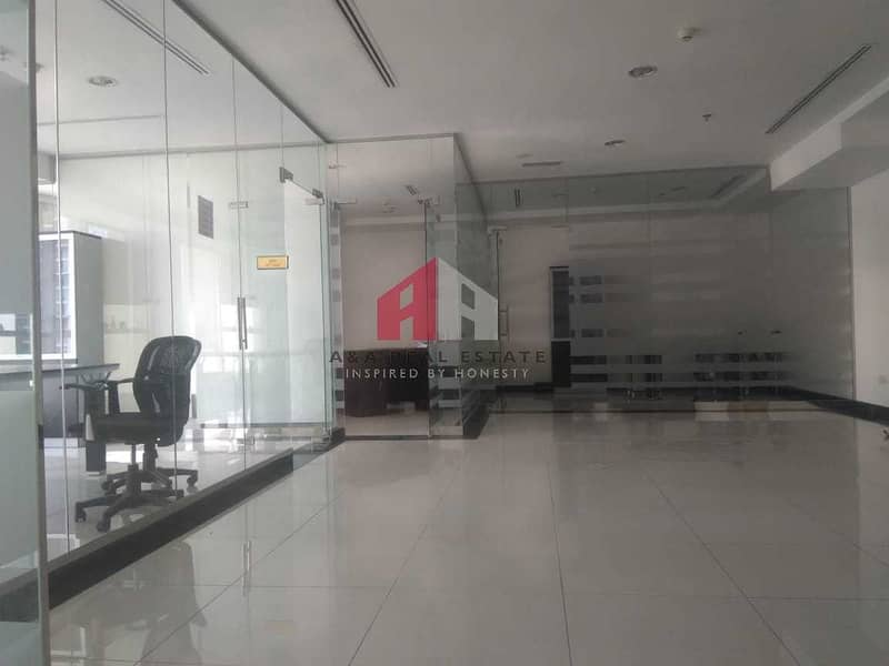 Semi-furnished Office for Rent in Fortune Tower