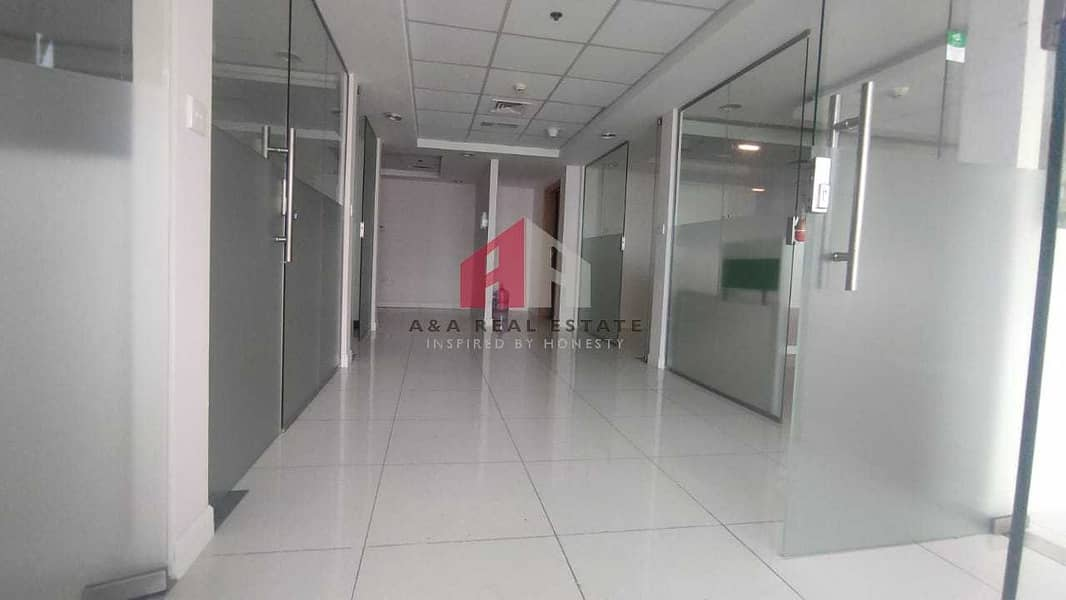 Glass partitioned office for Rent in Fortune Executive tower