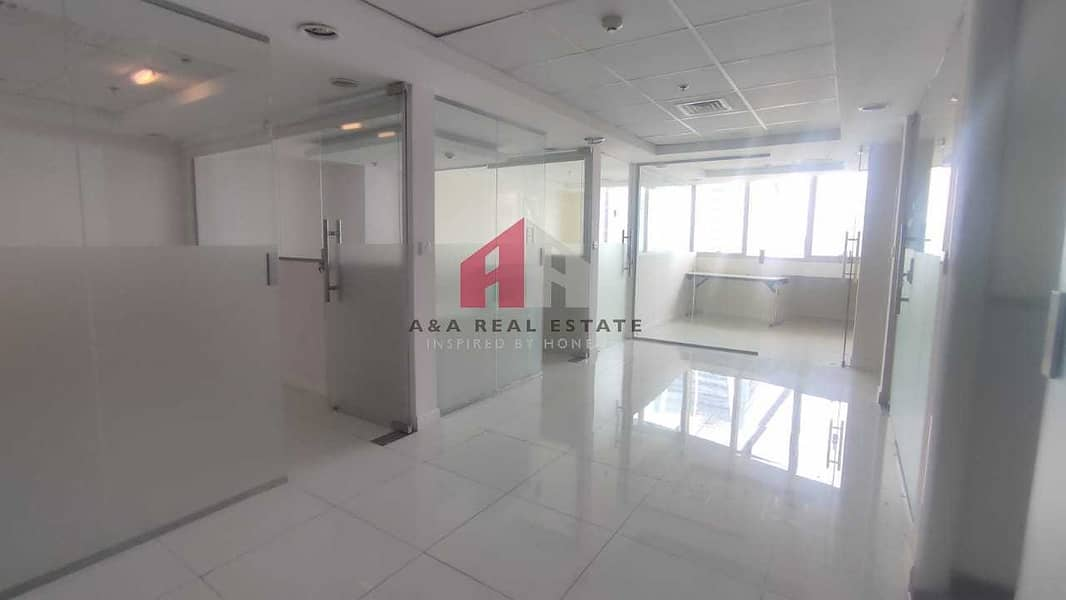 2 Glass partitioned office for Rent in Fortune Executive tower