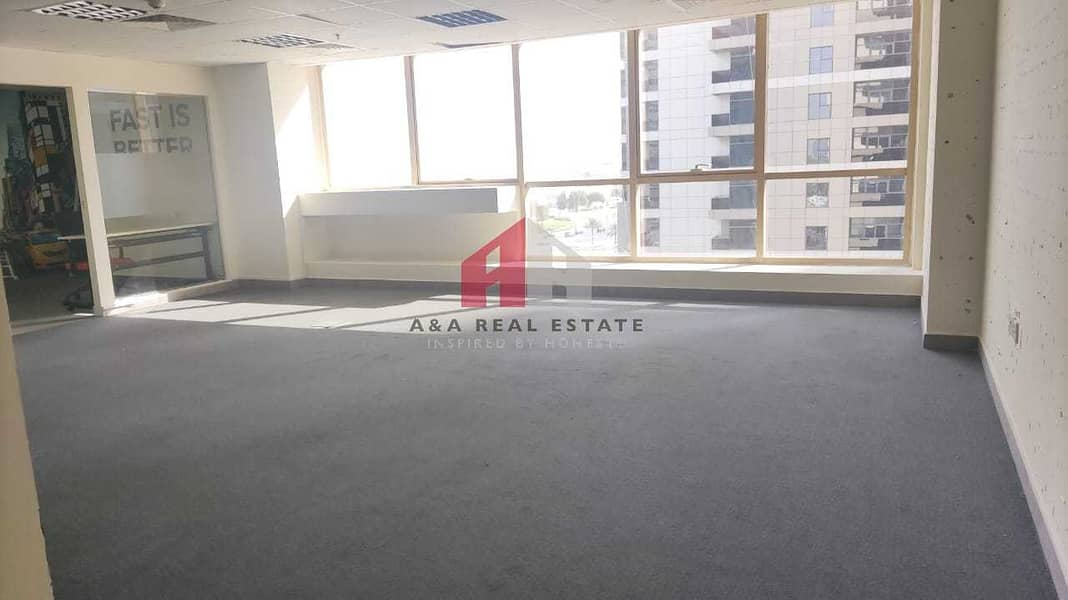 2 Partitioned Unfurnished Office for Rent in Fortune Tower