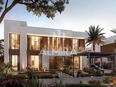5 Bedroom Villa for Sale in Saadiyat Island, Abu Dhabi - Corner Unit I Direct on the Park w/ huge plot size