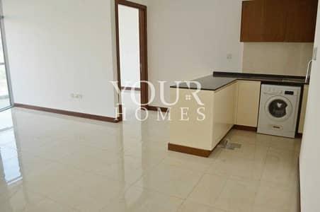 شقة 1 غرفة نوم للايجار في قرية جميرا الدائرية، دبي - OP| 1BHK with terrace Equipped Kitchen Villa Myra JVC