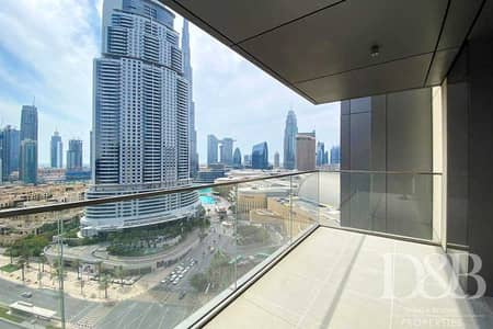 2 Bedroom Flat for Rent in Downtown Dubai, Dubai - Brand New 2 Beds   Burj View   03 Series